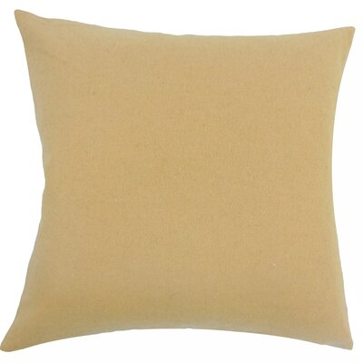 Schubert Solid Floor Pillow Color: Beige
