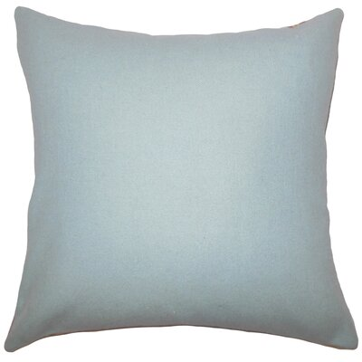 Schubert Solid Floor Pillow Color: Light Blue