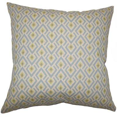 Hardeman Geometric Floor Pillow Blue Color: Blue
