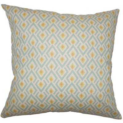 Hardeman Geometric Floor Pillow Blue Color: Ridgeland