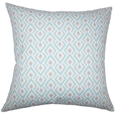 Hardeman Geometric Floor Pillow Blue Color: Taupe