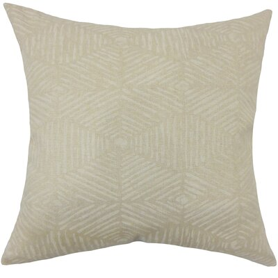 Downen Geometric Floor Pillow Color: Cloud