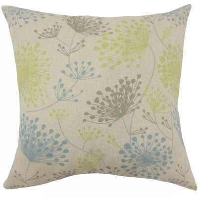 Dorsch Floral Floor Pillow Color: Florence
