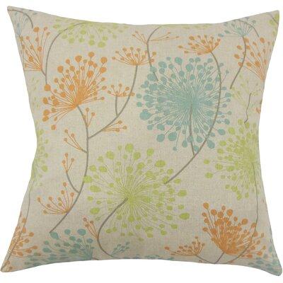 Dorsch Floral Floor Pillow Color: Ridgeland