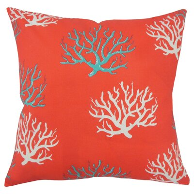 Jansen Coastal Floor Pillow Color: Calypso