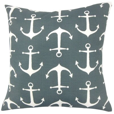 Robina Coastal Floor Pillow Color: Cavern