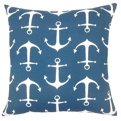 Robina Coastal Floor Pillow Color: Oxford