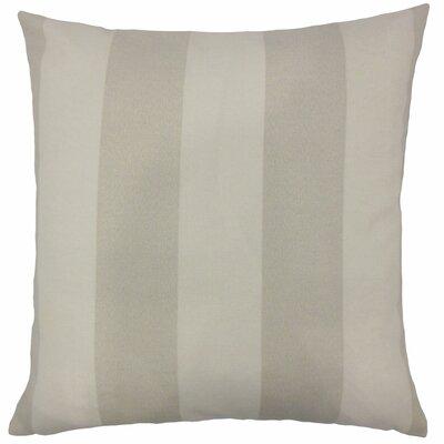 Angilia Striped Floor Pillow Color: Beachwood