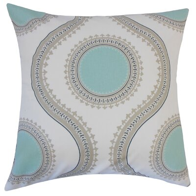 Castlebourne Graphic Floor Pillow Color: Twill