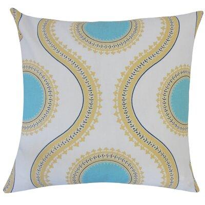 Castlebourne Graphic Floor Pillow Color: Coastal