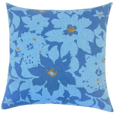 Lavina Floral Floor Pillow Color: Calypso