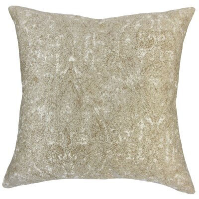 Sheena Graphic Floor Pillow Color: Bronze