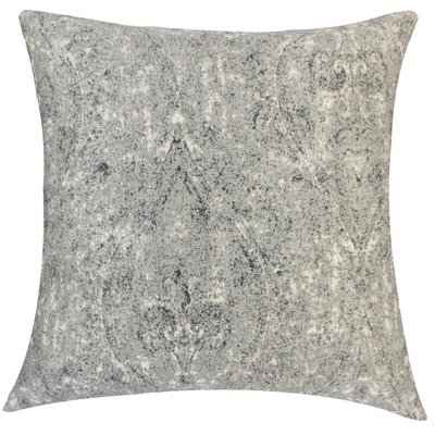 Sheena Graphic Floor Pillow Color: Pewter