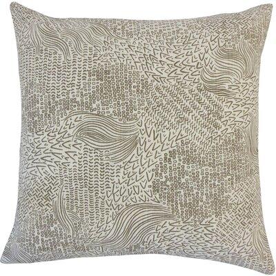 Hedberg Geometric Floor Pillow Color: Brindle