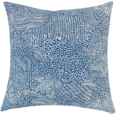 Hedberg Geometric Floor Pillow Color: Calypso