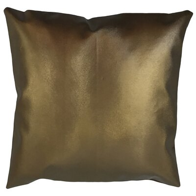 Huang Solid Down Filled Throw Pillow Size: 22 x 22