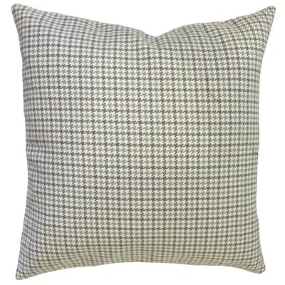 Arseni Houndstooth Floor Pillow