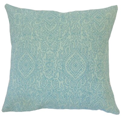 Carleton Damask Floor Pillow Color: Turquoise