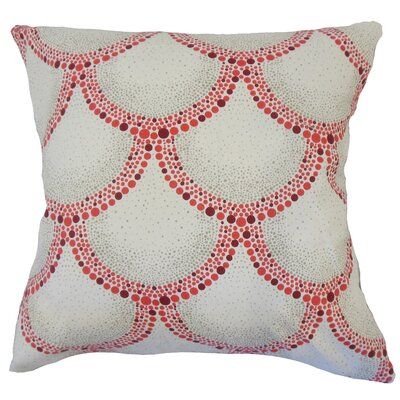 Teller Geometric Down Filled 100% Cotton Lumbar Pillow