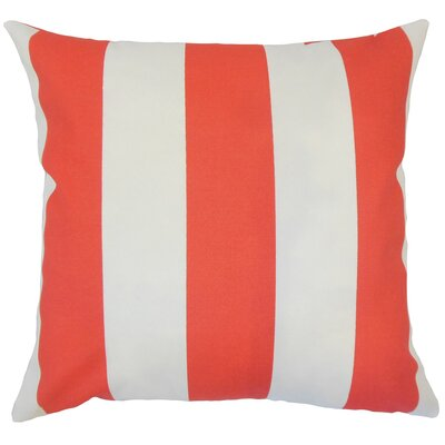 Wieland Striped Down Filled 100% Cotton Throw Pillow Size: 24 x 24
