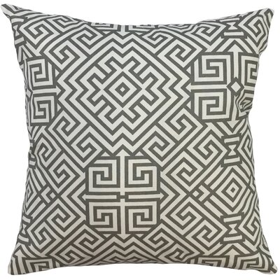 Valcour Geometric Down Filled 100% Cotton Lumbar Pillow