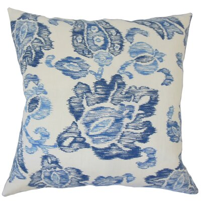 La Mesa Ikat Down Filled 100% Cotton Lumbar Pillow Color: Indigo