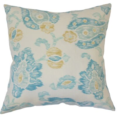 Cici Down Filled 100% Cotton Throw Pillow Size: 22 x 22