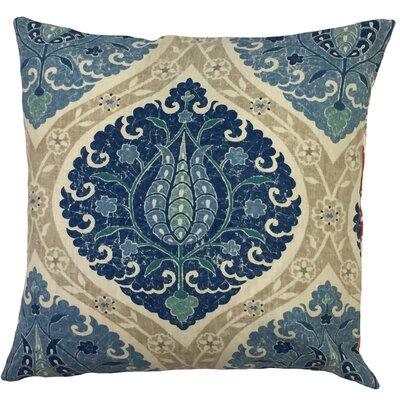 Austyn Ikat Floor Pillow Color: Lake