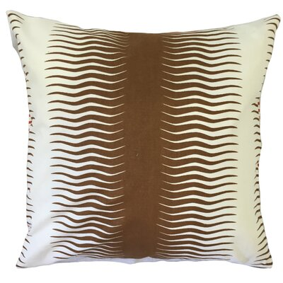 Dru Geometric Floor Pillow Color: Bronze
