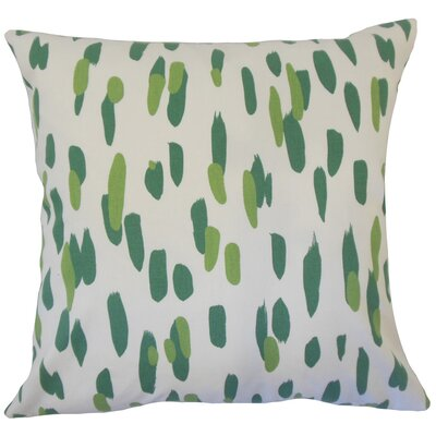 Durgin Graphic Floor Pillow Color: Palm