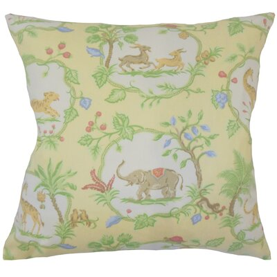 Folsom Floral Down Filled 100% Cotton Throw Pillow Size: 22 x 22