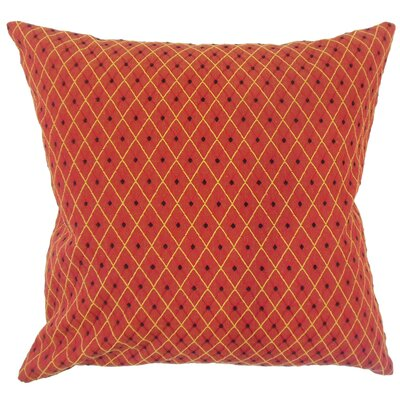 Lita Geometric Down Filled 100% Cotton Lumbar Pillow
