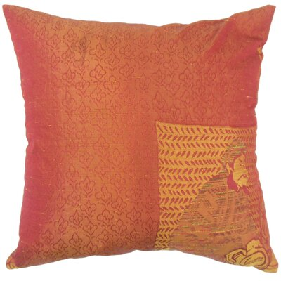 Urijah Damask Down Filled 100% Cotton Lumbar Pillow