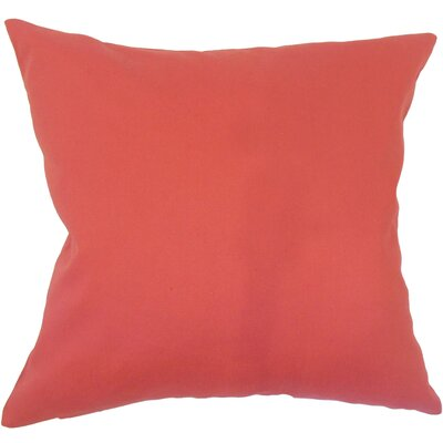 Dolla Solid Down Filled 100% Cotton Throw Pillow Size: 20 x 20