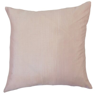 Chiwetel Solid Down Filled Throw Pillow Size: 24 x 24