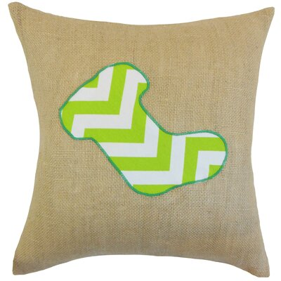 Teddington Christmas Stocking Floor Pillow Color: Green