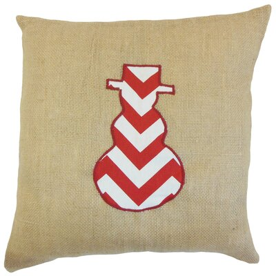 Teddington Snow Man Floor Pillow