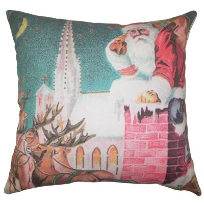 Nicholas Holiday Floor Pillow