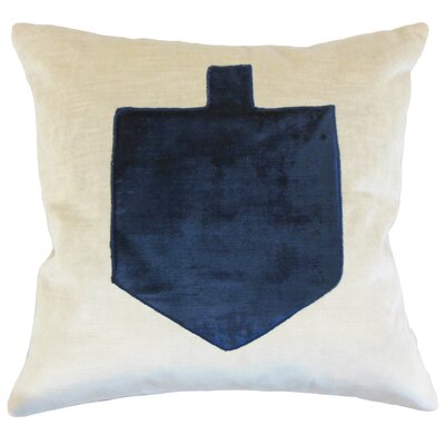 Jessica Holiday Floor Pillow Color: Blue