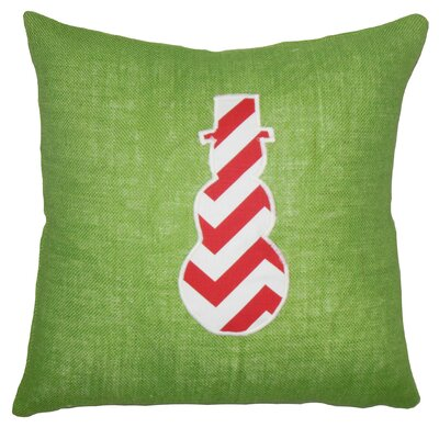 Ulfa Holiday Floor Over Sized Green Pillow