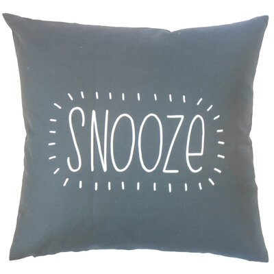 Kromer Snooze Text Floor Pillow