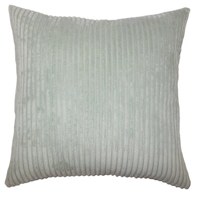 Janelle Solid Down Filled Throw Pillow Size: 18 x 18, Color: Aquamarine