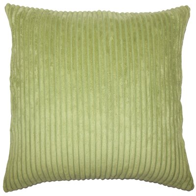 Janelle Solid Down Filled Throw Pillow Size: 18 x 18, Color: Avocado