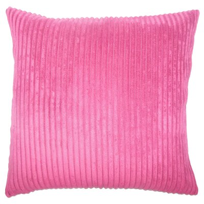 Janelle Solid Down Filled Throw Pillow Size: 18 x 18, Color: Mulberry