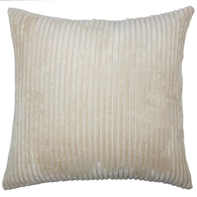 Janelle Solid Down Filled Lumbar Pillow Color: Natural