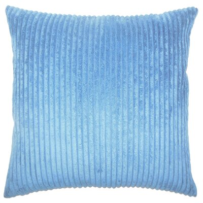 Janelle Solid Down Filled Throw Pillow Size: 18 x 18, Color: Royal Blue