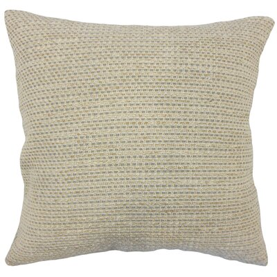 Fabela Striped Down Filled 100% Cotton Throw Pillow Size: 18 x 18