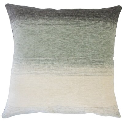 Wigington Ombre Down Filled Throw Pillow Size: 24 x 24, Color: Rain
