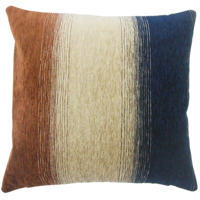 Wigington Ombre Down Filled Lumbar Pillow Color: Cognac