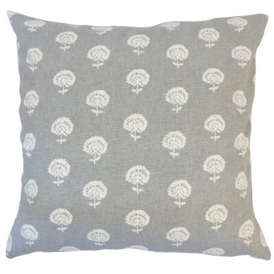 Anija Ikat Down Filled 100% Cotton Throw Pillow Size: 22 x 22, Color: Graystone